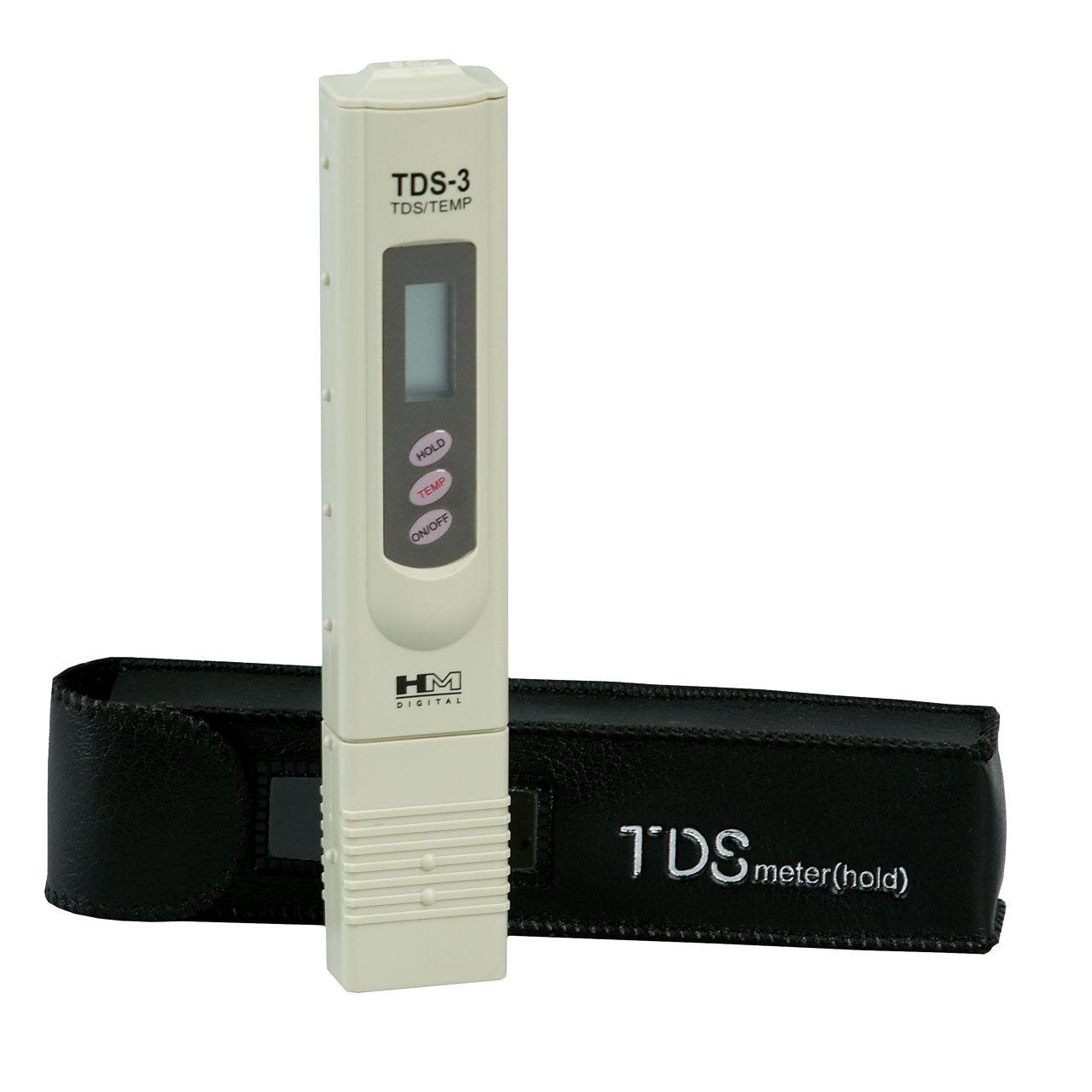 konduktometr TDS stosowany przez akwarystów.