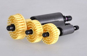 Typowy wirnik igiełkowy, choć podobną funkcje pełnią też wirniki siatkowe.