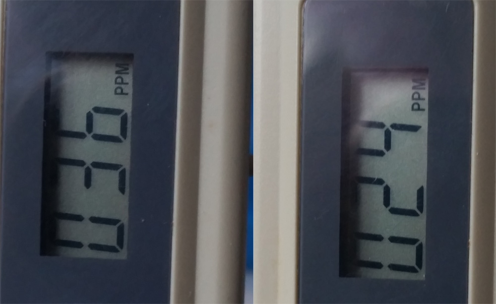 skuteczność membrany odwróconej osmozy filtr RO Di