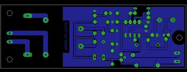 PCB uziemiacza