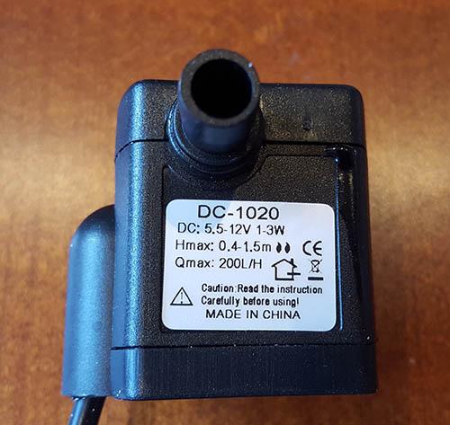 Pompka 12v DC do dolewki automatycznej