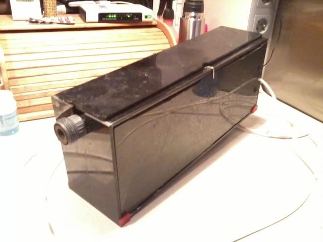 Kompletny - wolno stojący filtr ATS zasilany ze spływu lub za pomocą małej pompki